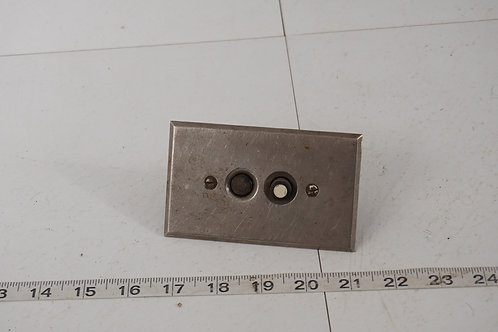 Push Button Electrical Light Switch With Nickel Plate