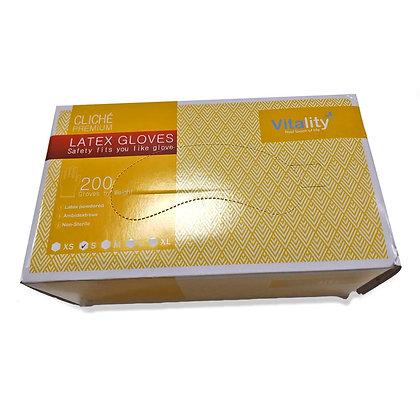 Manusi latex pentru medici, 200 bucati