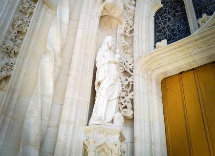 Naissance de la vierge Notre Dame de Moret sur Loing