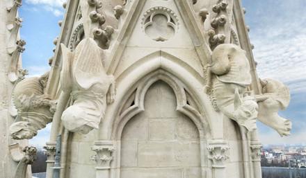 Chimeres Basilique St Denis