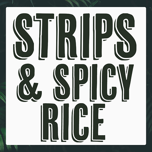 5 x Vegan Strips & Spicy Rice Meal Pack