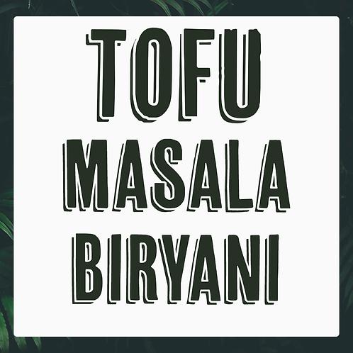 Single Tofu Masala Biryani Meal