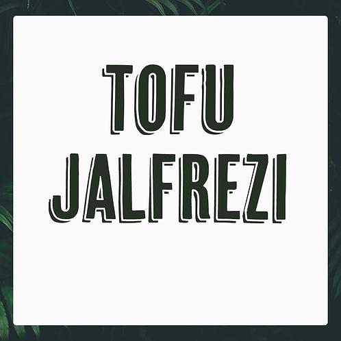 Single Tofu Jalfrezi Meal
