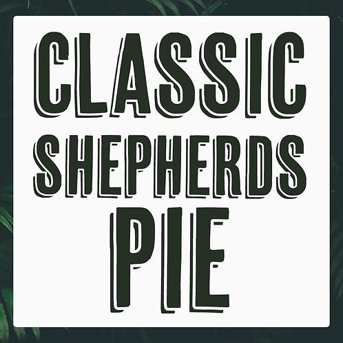 Single Classic Shepherds Pie Meal