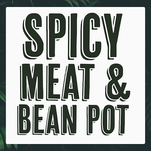 5 x Spicy Meat & Bean Pot Meal Pack