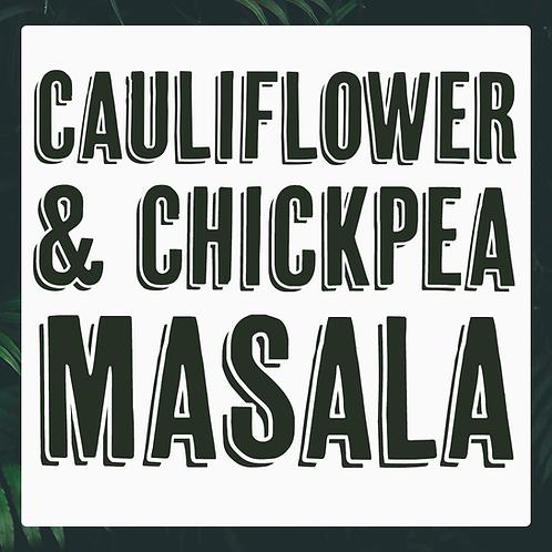 5 x  Cauliflower & Chickpea Masala Meal Prep