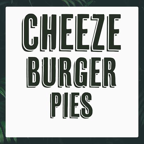 4 Frozen Vegan Cheeze Burger Pies