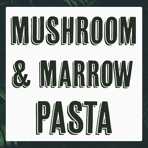 Single Mushroom & Marrow Pasta Meal