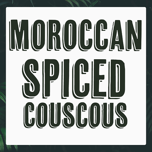 5 x Moroccan Spiced Couscous Meal Prep