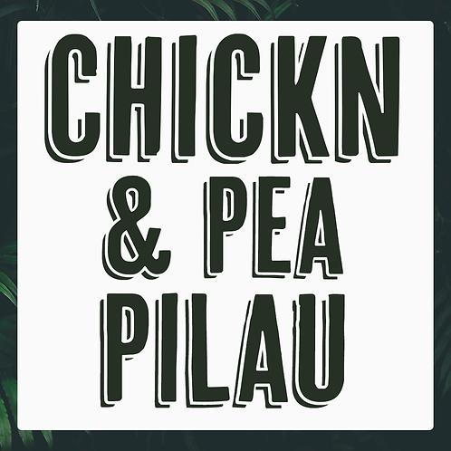 Single Chickn & Pea Pilau Meal