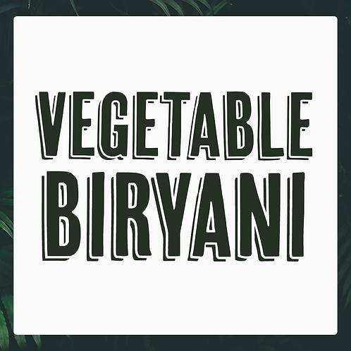 Single Vegetable Biryani Meal