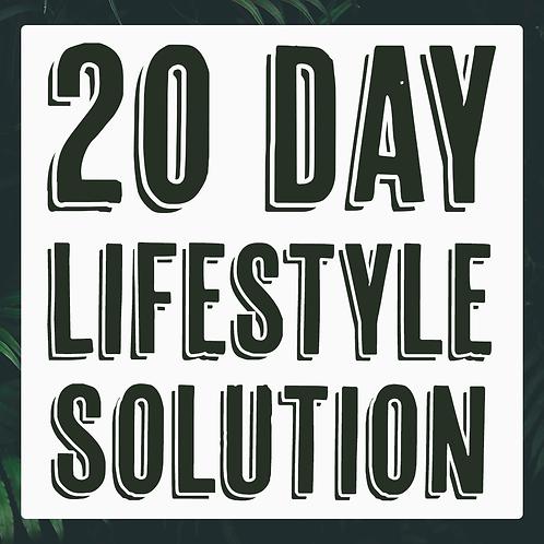 20 Day Vegan Lifestyle Solution