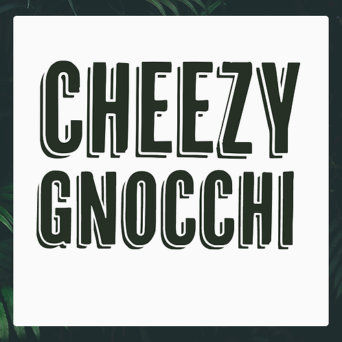 Single Cheezy Gnocchi Meal