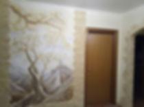 Лепнина на стене