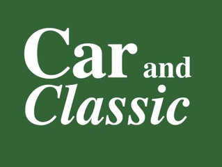 Live and active on Car and Classic!