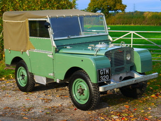 Genesis: The 1948 Land Rover Series 1 80""