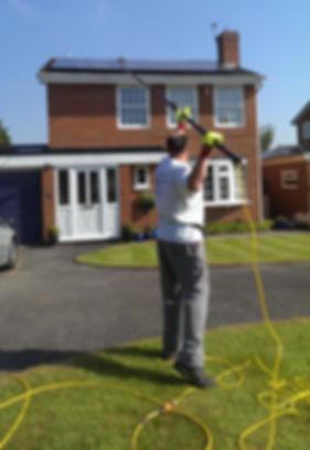 Telford Solar Panel cleaner, Telford window cleaner