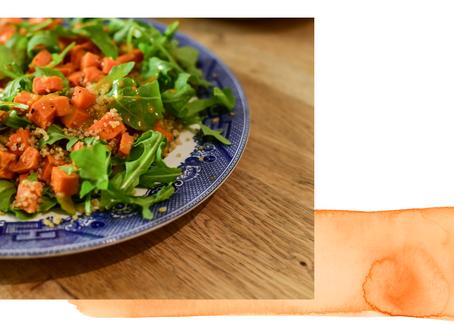Sweet Potato & Quinoa Salad Recipe