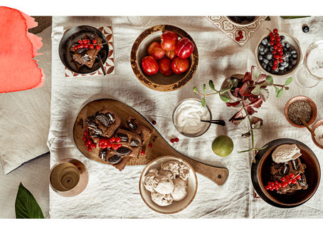 Plant-Based Cookies & Cream Brownies