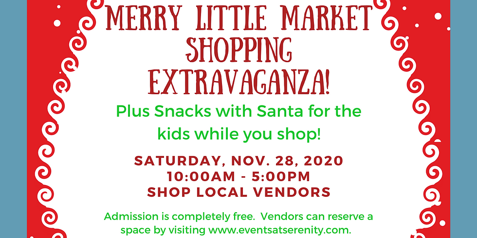 Merry Little Market on Small Business Saturday