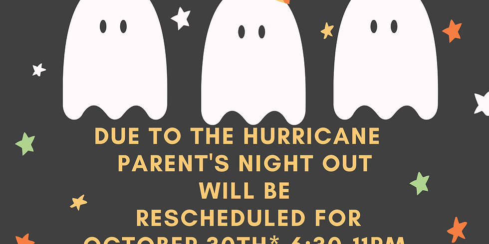 October Parent's Night Out