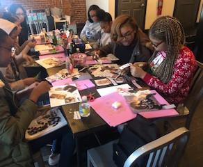 The Young Ladies' League Christmas Celebration & Workshop