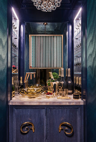 Architectural Digest article Champagne Bar Kip's Bay