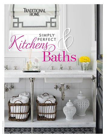 Traditional Home article with Jim Dove Kitchens and Baths