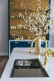 Gold Kitchen Sink Fixtures