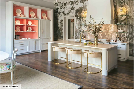 House Beautiful article Jim Dove Showroom in Palm Beach