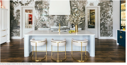 Architectural Digest article Jim Dove Showroom Palm Beach