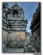 Galerie de Borobudur