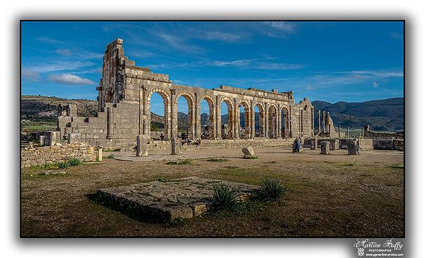 Basilique de Volubilis