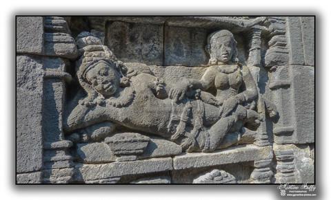 Bas-relief - Borobudur