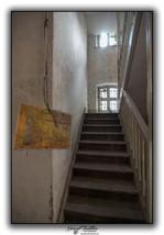 Escalier vers appartement Directeur