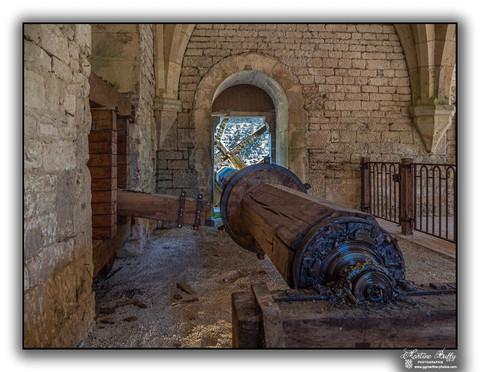 Arbre du marteau de la forge
