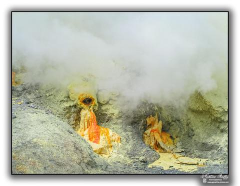 Au fond du cratère
