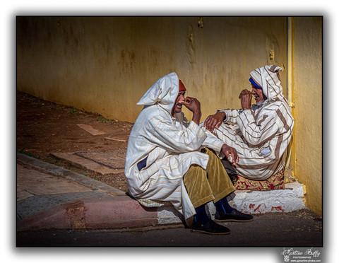 Discussion marocaine