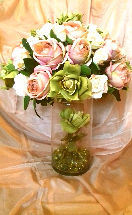 Tall Wedding Centrepiece