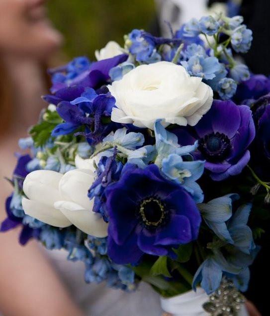 Anemone Brides Bouquet image courtesy of freeimages