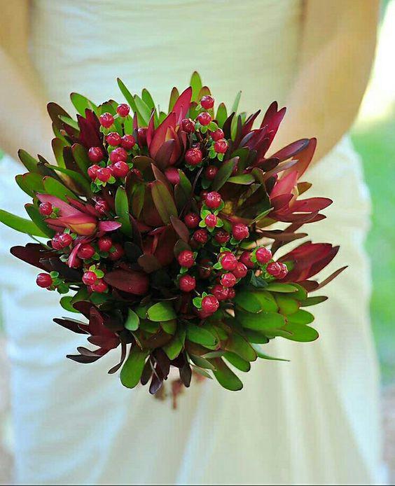 Leucadendron Bouquet (Pinterest)