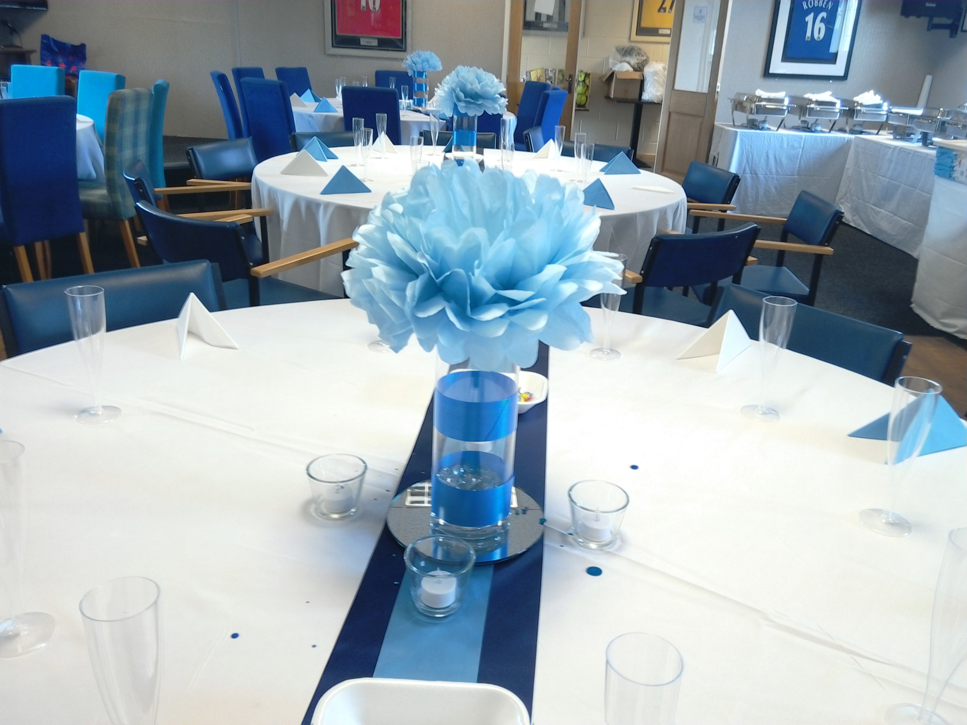 Table Decoration for baby dedication