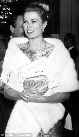 Grace Kelly / Image from dailymail.co.uk