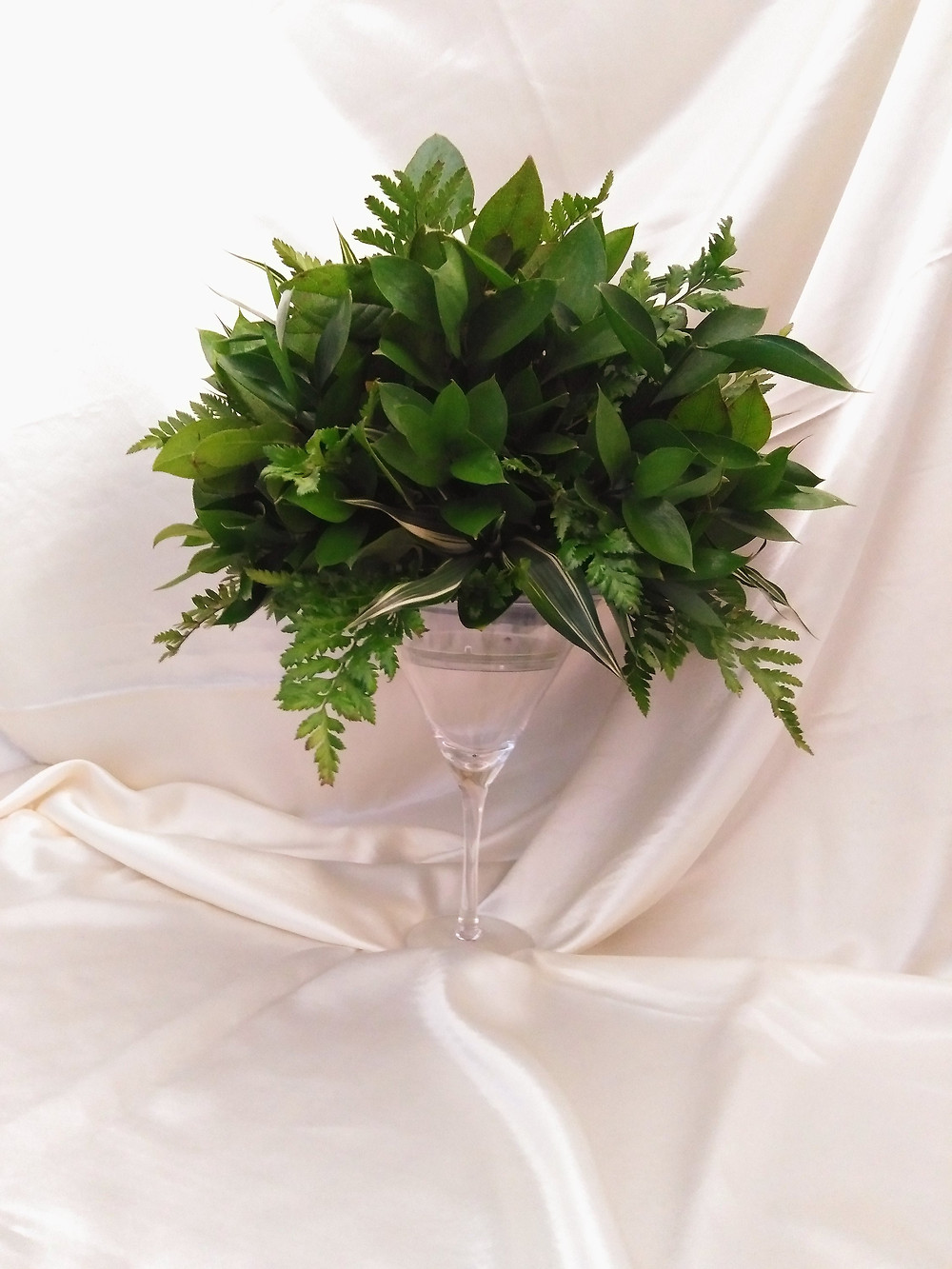 PC Creations Leeds 'Foliage Only  Centrepiece' 2019