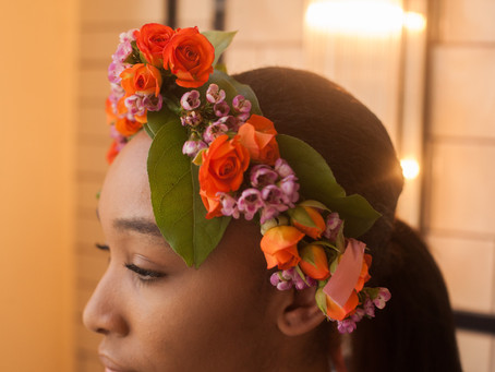 PLANNING YOUR WEDDING FLOWERS - BOHO FLOWER CROWNS / HEAD CIRCLETS