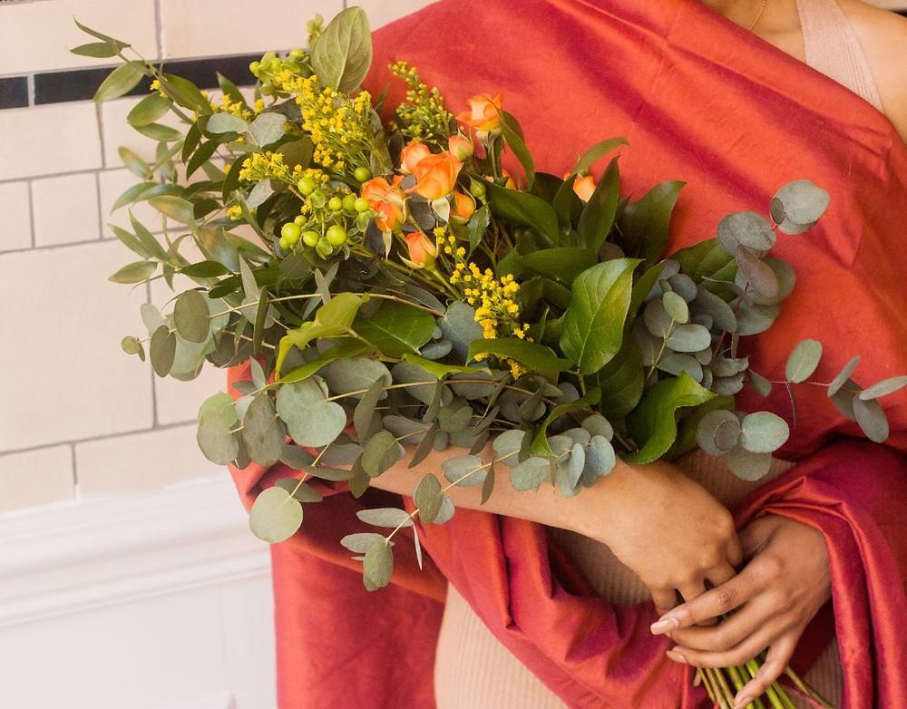 PC Creations Leeds Boho / Rustic Bouquet