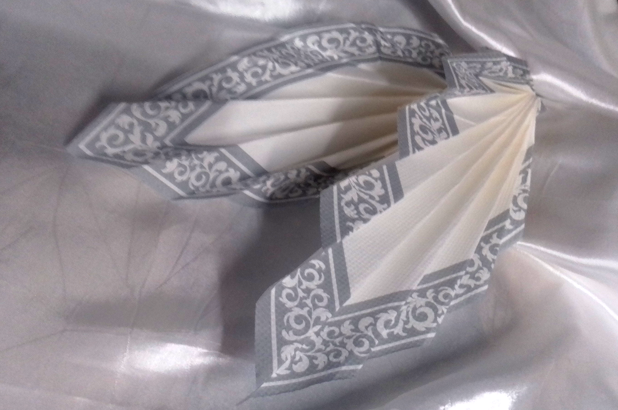 Fancy Napkin Fold
