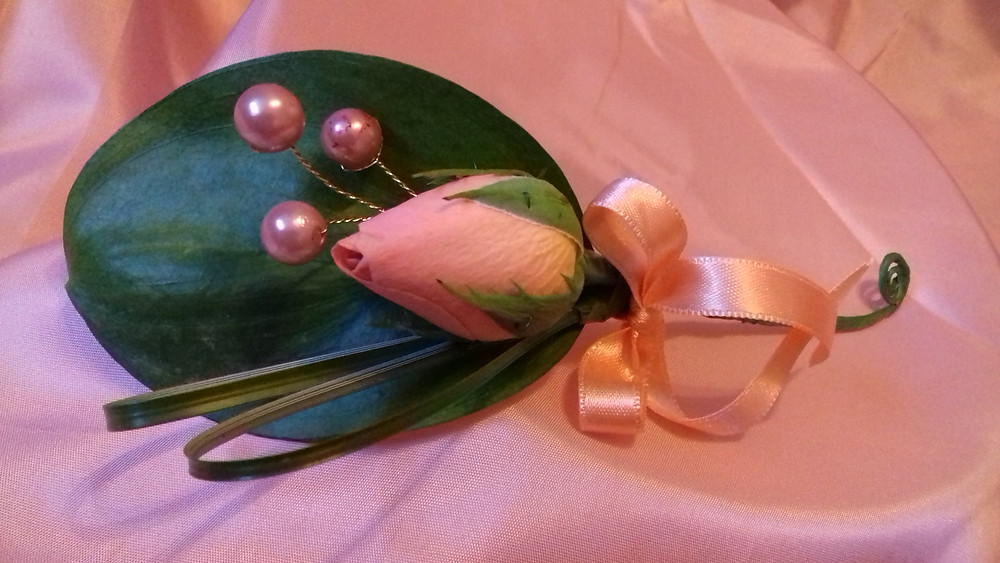Groom's buttonhole / Corsage by PC Creations Leeds