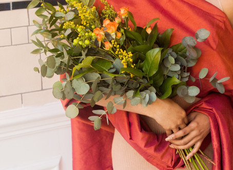 PLANNING YOUR WEDDING BOUQUET - FOLIAGE ONLY BOUQUETS