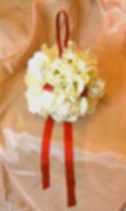 Hydrangea Wedding Pomander